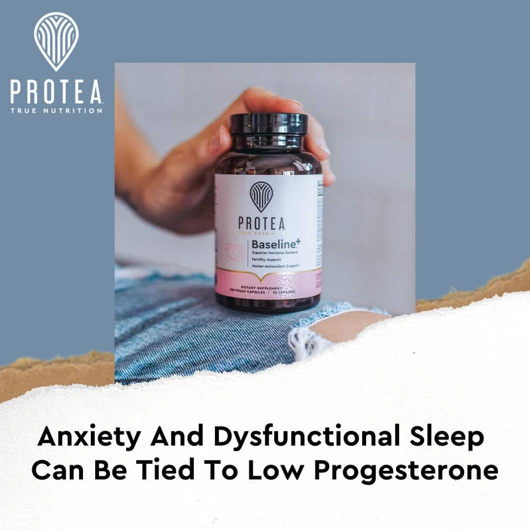 Anxiety And Dysfunctional Sleep Can Be Tied To Low Progesterone