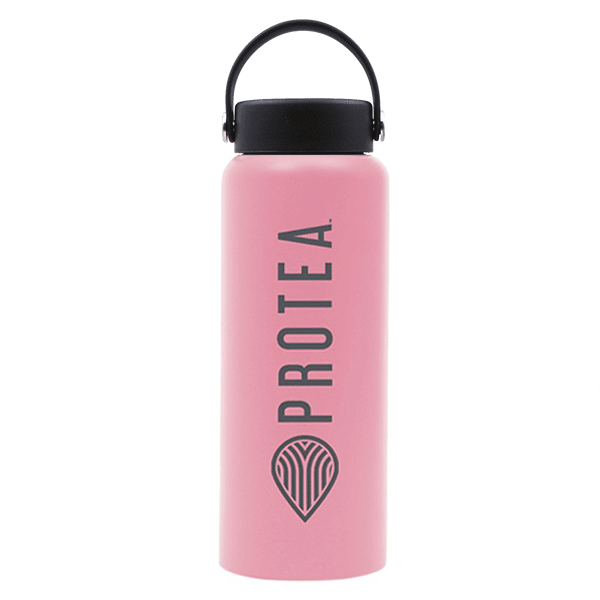 Stainless Steel Flask – Pink