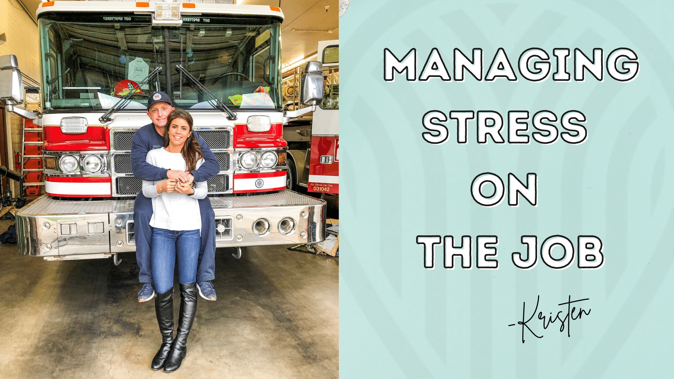 Managing stress on the job