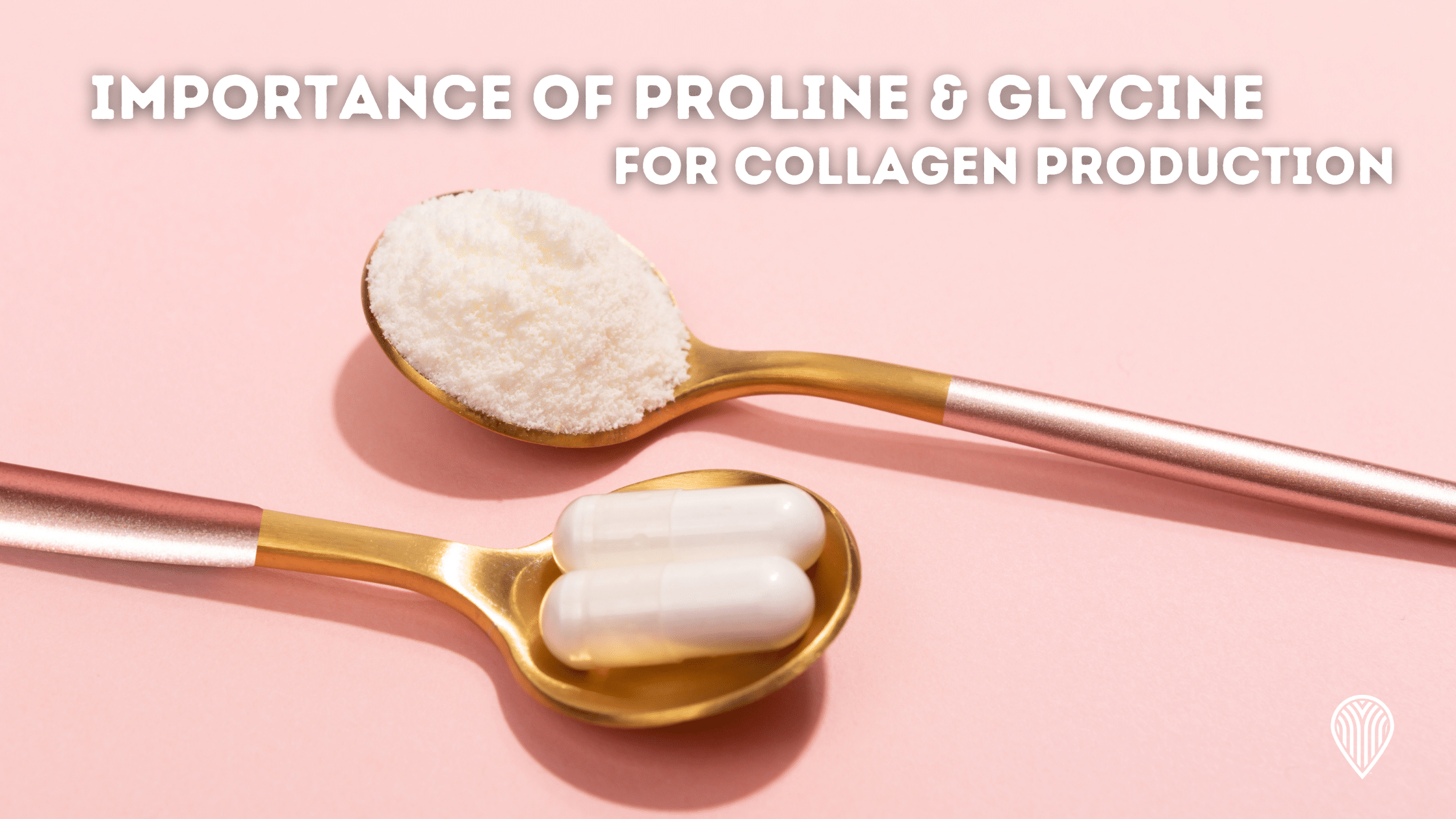 Importance of proline & glycine for collagen production